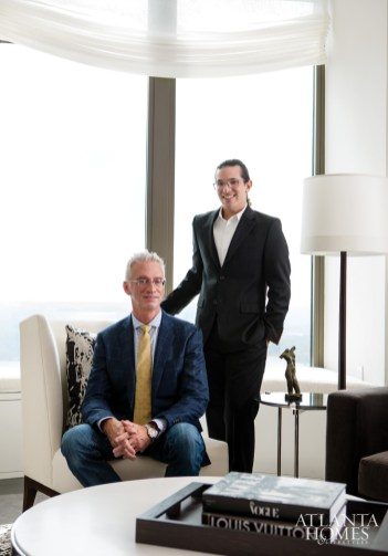 Atlanta designers Robert Grayson and Andrew Harris of GraysonHarris, ASID, conceived an artful, contemporary model residence for The Residences at Mandarin Oriental, Atlanta.