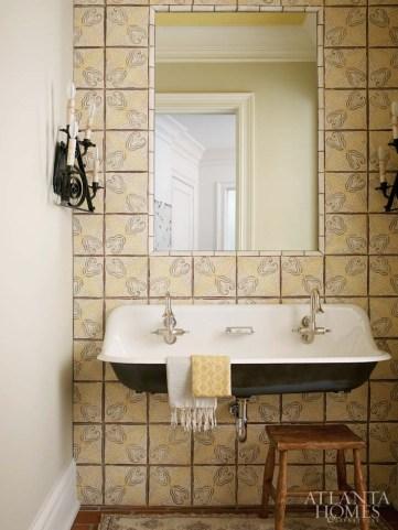 Powder Room Karen Ferguson, Harrison Design Associates