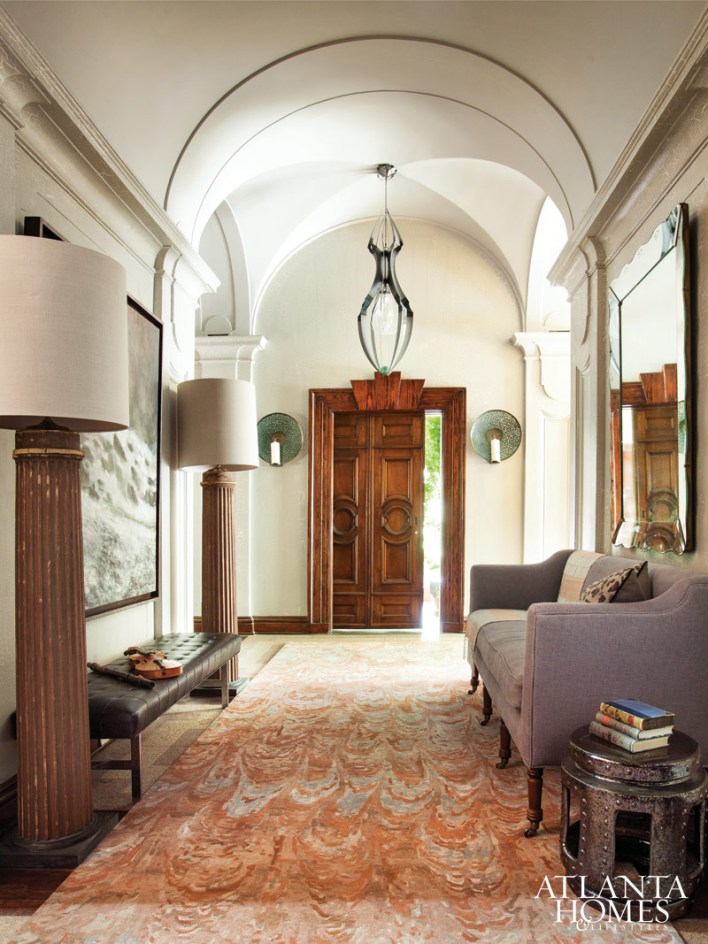 Grand Hall by Laura Walker; Verde Home by Laura Walker