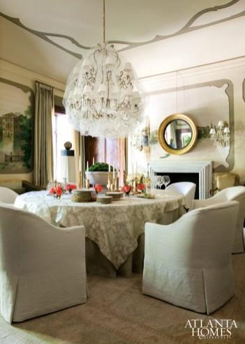 Dining Room by Melanie Turner and Cristi Rajevac; Melanie Turner Interiors
