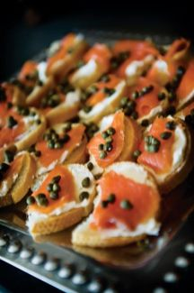 Mills has her own, no-frills way of whipping up creative hors d'oeuvres for a glamorous get together.