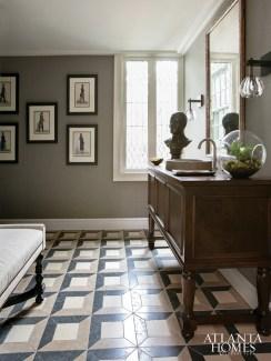 Man's bathroom // Karen Ferguson, Harrison Design Associates