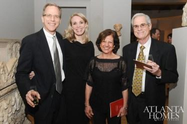 David Landis, Maria Landis, Polyxeni Potter and Morris Potter