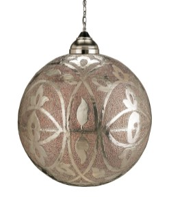 """Sahara"" pendant, $2,490. Redefined Home Boutique, 887 Howell Mill Rd., Atlanta 30318. (404) 815-7250; redefinedhomeboutique.com"
