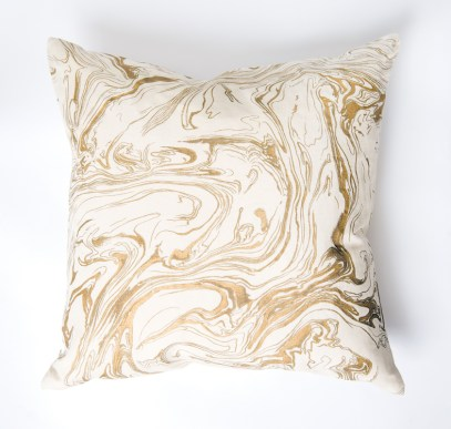 "Kelly Wearstler for Sferra ""Quartz"" pillow, $128. Belle Chambre, 1248 West Paces Ferry Rd., Atlanta 30327. (404) 816-5333; bellechambre.com; sferra.com"