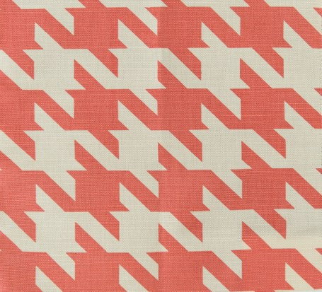 """Ames Houndstooth linen cotton fabric by China Seas. Available through Ernest Gaspard &""""Associates."""