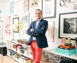 Branding guru John Lineweaver helps Atlanta's creative set thrive through thoughtful storytelling and design.