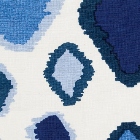 """""""francesca"""" fabric by Amanda Nisbet design & textiles, Travis & Company. Available to the trade only."""