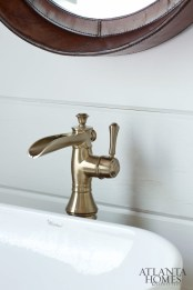 Vessel sink faucet from Delta.