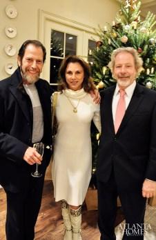 Dr. Albert Amato, Maria Guarisco and Bill Harrison