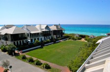 """Architectural styles and silhouettes of Rosemary Beach""""s """"cottages"""" call to mind coastal areas like St. Augustine, the West Indies, New Orleans and Charleston."""