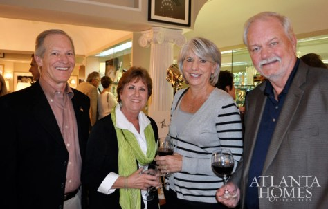 Dennis and Marilyn Krutz, Sharon and Barry Thomas