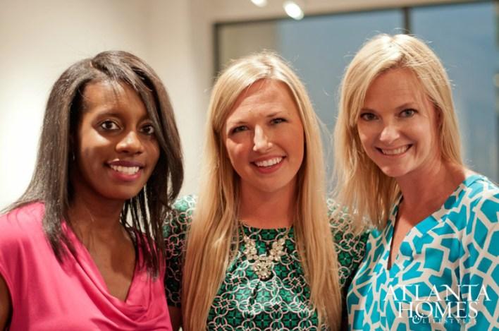 Katie Miner, Amanda Hall and Mackenzie Johnson
