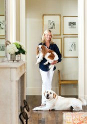 The Pearce's primary objective: to make the space livable for their two children and pups Charlie and Biscuit.