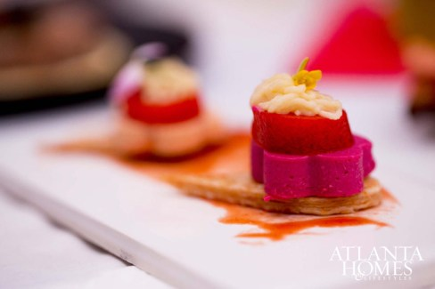 Exquisitely designed food by one of the region's up-and-coming chefs to watch.