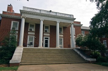 """Athens Built in 1939, UGA""""s Rutherford Hall was constructed during the New Deal program. Plans include demolishing the Neoclassical style building in order to build a new 260-bed residence hall on the site."""