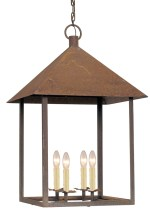 Metal lantern, $2,150. south of Market, 345 Peachtree Hills Ave. NE, Suite 100, Atlanta 30305. (404) 995-9399; southofmarket.biz