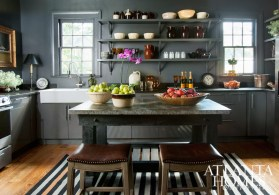 Stanton started fresh in the kitchen, installing almost all Ikea cabinets, appliances, plumbing and fixtures.