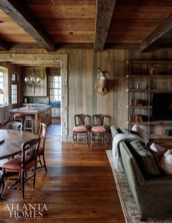 this South Carolina hunting lodge redefines rustic