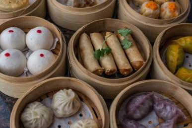 Dim Sum from Shanghai Terrace restaurant.