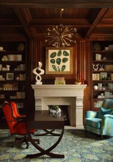 Residential – Singular Space Bronze: Bold Buckhead Study, Harmonious Living by Tish Mills, Tish Mills, Allied ASID
