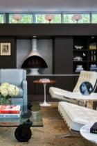 "Residential – Singular Space Gold: ""Machine for Living Redux"" Residence: Living Room, Studio A2 LLC, Shawn C. Alshut, ASID, RA, Edward J. Alshut, AIA"