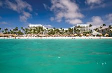 """""""Bon Bini"""" (""""welcome,"""" in Aruba's native language of Papiamento) to Aruba Marriott Resort and Stellaris Casino which looms majestically on the northwest side of the island and is a popular local hotspot for its water sports as well as its sybaritic indulgences."""