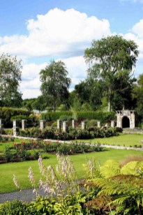The castle's 450-acre grounds include picturesque gardens and walking trails.