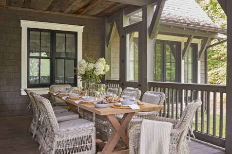 """""""while there are rustic touches, we pushed it in a modern direction, which makes it feel very fresh."""""""