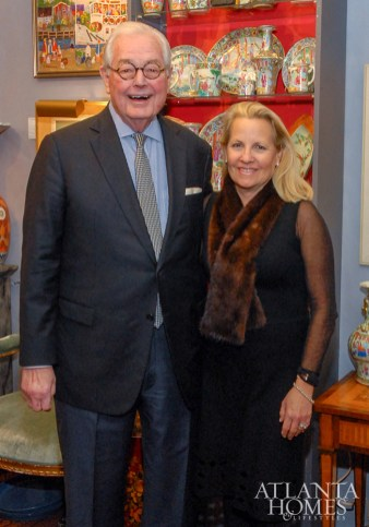 Wes and Terry Vawter of Atlanta Fine Homes Sotheby's International Realty