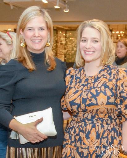 Elizabeth Ralls and Zoë Gowen of Atlanta Homes & Lifestyles