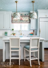The homeowners tripled their cook space in the newly, and smartly designed, downsized home.