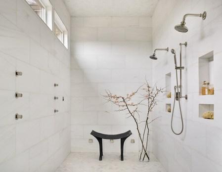 "NEW CONSTRUCTION–Master Bath SILVER ""Blacks Bluff Master Bathroom"" ■ J. Wheeler Designs James Wheeler, Associate ASID"