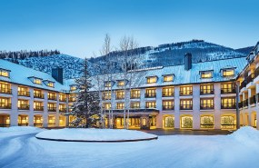 Complimentary shuttles to Lionshead and Vail Village leave every 15 minutes from the resort entrance.