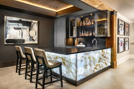 "NEW CONSTRUCTION–Singular Space GOLD ""Modern Industrial Terrace"" ■ Pineapple House Interior Design, Inc. Amber Gizzi, ASID; Kari Mears, Allied ASID; Victoria Askin"