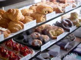 Pastries by Executive Pastry Chef Jen Yee are baked fresh daily.