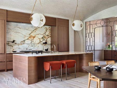 marble backsplash and countertops kitchen