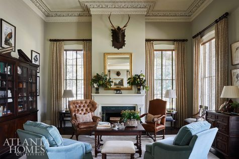 new and antique furniture sitting room