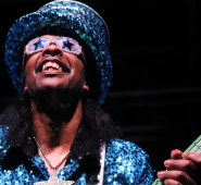 Bootsy Collins - Photo by Chris Horton