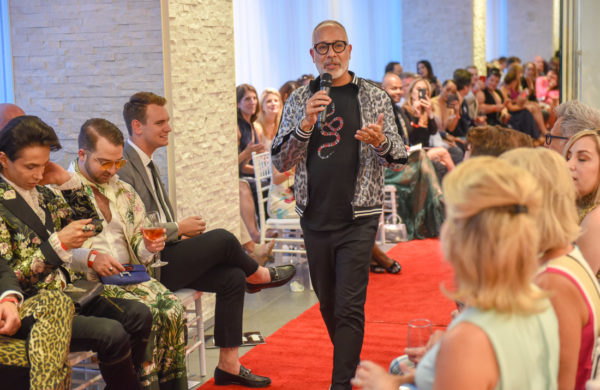 E. Vincent Martinez, founder of Doggies on the Catwalk Foundation, says the annual Doggies on the Catwalk event raised over $50,000 this year. The event drew more than 300 in attendance.