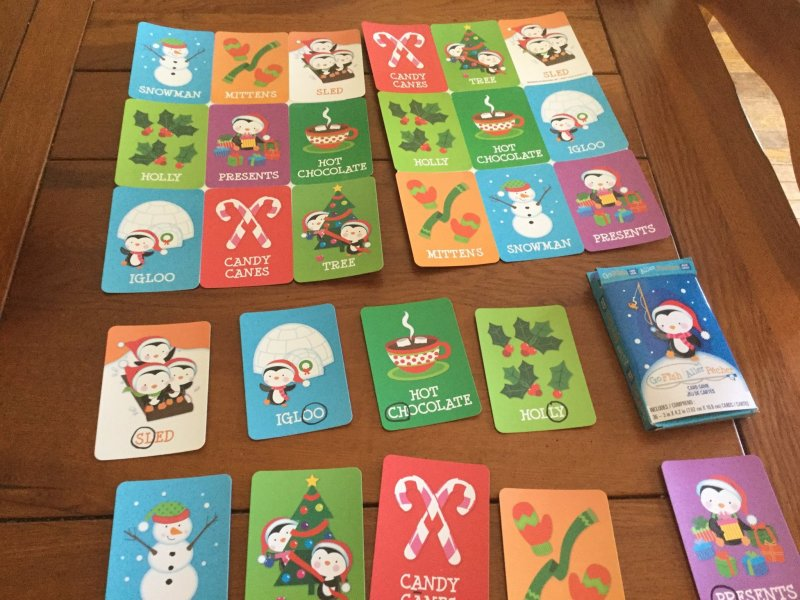 Multisensory Winter Holiday Bingo