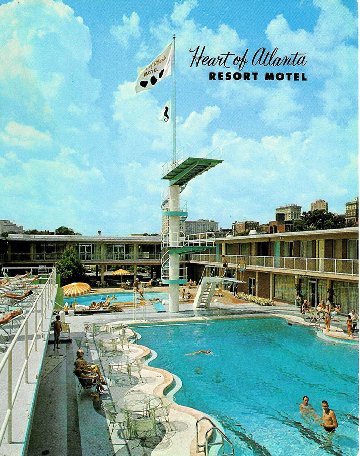 Heart of Atlanta Motel publicity photo - Atlanta Time Machine