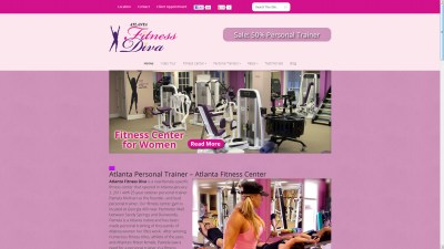 Atlanta Fitness Diva Website Design