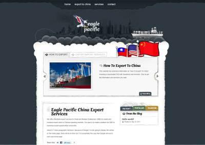 Eagle Pacific Website Design