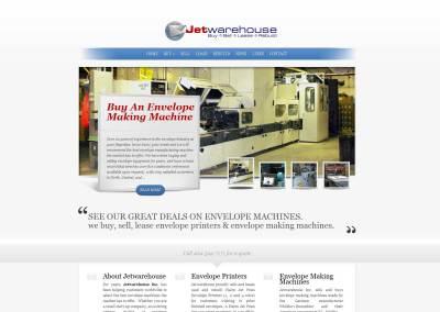 Envelope Machines Website Design