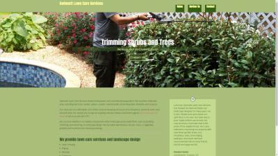 Gwinnett Lawn Care Services Website Design