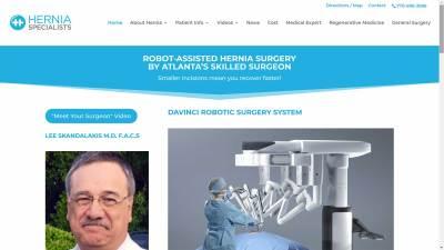 Hernia Surgeon Lee Skandalakis MD FACS