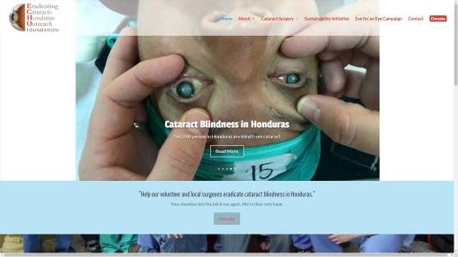 Operation Echo Non-Profit Website Design