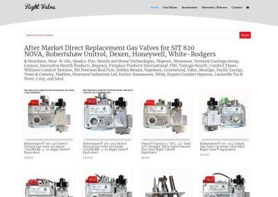 Right Valve Website Design