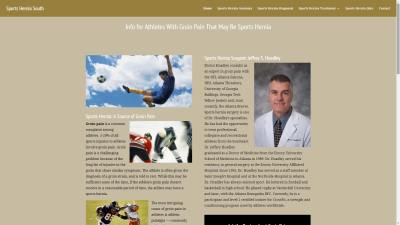 Surgeon Jeffrey Hoadley Website Design